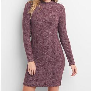 Gap Red Mockneck Sweater Dress (Medium)